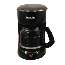 Better Chef 12 Cup Coffeemaker Black