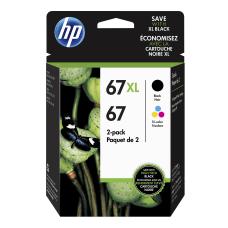 HP 67XL Original High Yield BlackTricolor