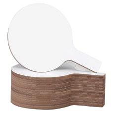 Flipside Mini Frameless Dry Erase Answer