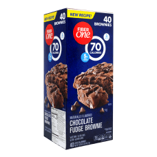 Fiber One 70 Calorie Chocolate Fudge