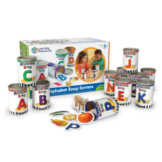 Learning Resources Alphabet Soup Sorters 3