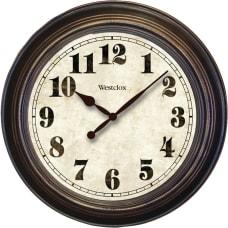 Westclox Wall Clock Analog Quartz
