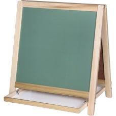 Flipside ChalkboardMagnetic Board Table Easel 18