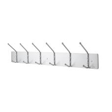 Safco Metal Wall Rack Coat Hooks