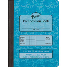 Pacon Dual Ruled Composition Book 100