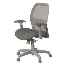 Safco Mesh Chair Gray