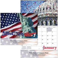 American Glory 13 Month Stapled Wall