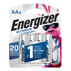 Energizer Photo Ultimate AA Lithium Batteries