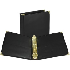 Samsill Leatherette Classic 3 Ring Binder