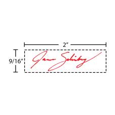 Custom Office Depot Brand Pre Inked
