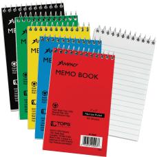 Ampad Memo Book 50 Sheets Wire