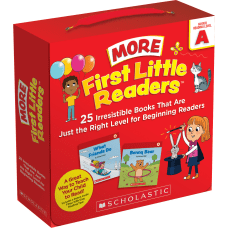 Scholastic First Little Readers More Guided