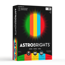 Astrobrights Color Paper 8 12 x