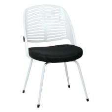 Ave Six Tyler Visitor Chair BlackWhite