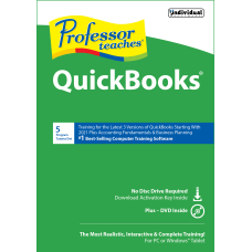 Professor Teaches QuickBooks Disc