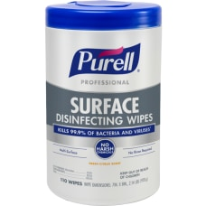 Purell Professional Surface Disinfecting Wipes 7