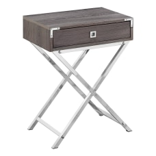Monarch Specialties Leigh Accent Table 24