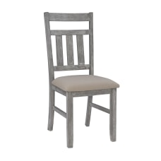 Powell Kassel Side Chairs GrayTan Set