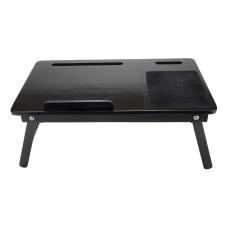 Mind Reader Bamboo Laptop Desk Tray