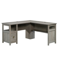 Sauder Cannery Bridge L Desk Mystic