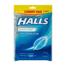 Halls Sugar Free Menthol Cough Drops