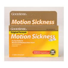 GoodSense Original Formula Motion Sickness Box
