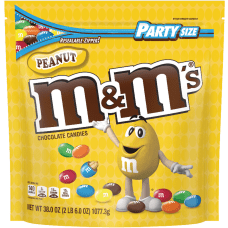 M Ms Peanut Chocolate Candies 38
