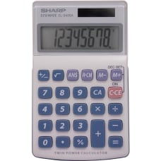 Sharp Calculators EL 240SAB 8 Digit
