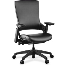 Lorell Serenity Executive Multifunction Bonded Leather