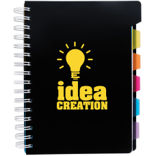 Spiral Notebook With Tabs 8 14