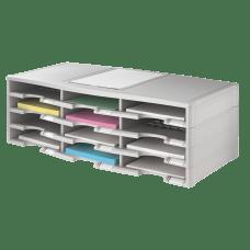 Office Depot Brand Stackable Plastic Literature