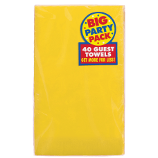 Amscan 2 Ply Paper Guest Towels
