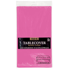 Amscan Plastic Table Covers 54 x