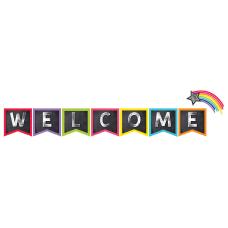 Schoolgirl Style Welcome Bulletin Board Set