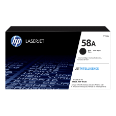 HP 58A Black LaserJet Toner Cartridge