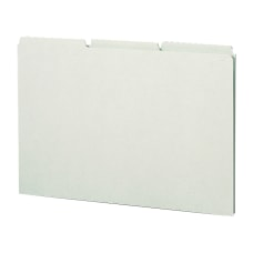 Smead Blank Pressboard File Guides Legal