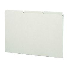 Smead Blank Pressboard File Guides Legal