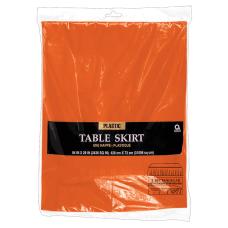 Amscan Plastic Table Skirts 84 x