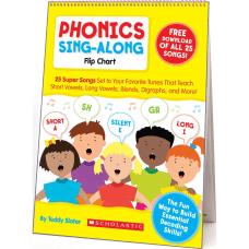 Scholastic K 2 Phonics Sing Along