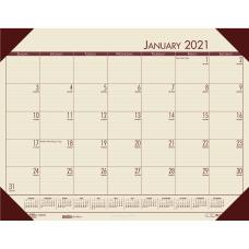Doolittle EcoTones Monthly Calendar Desk Pad
