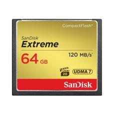 SanDisk Extreme 64 GB CompactFlash 120