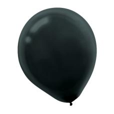 Amscan Latex Balloons 12 Jet Black