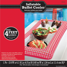 Amscan Summer Picnic Inflatable Buffet Cooler