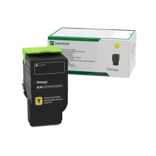 Lexmark 78C10Y0 Return Program Yellow Toner