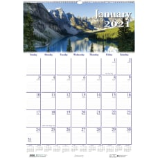 Doolittle Earthscapes Scenic Monthly Wall Calendar