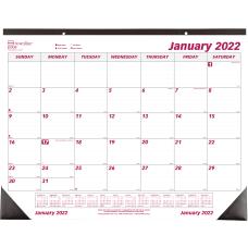 Brownline Monthly Desk Pad 17 x