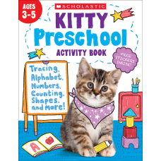 Scholastic Kitty Preschool Activity Book Pre