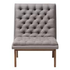 Baxton Studio Yasin Fabric Lounge Chair