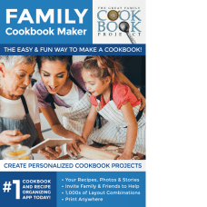 Family Cookbook Maker