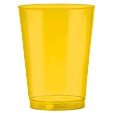 Amscan Plastic Cups 10 Oz Sunshine